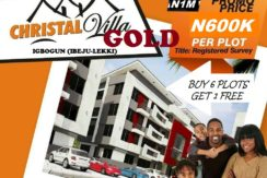 Christal villa gold ibeju lekki www.homes.softraiment.com