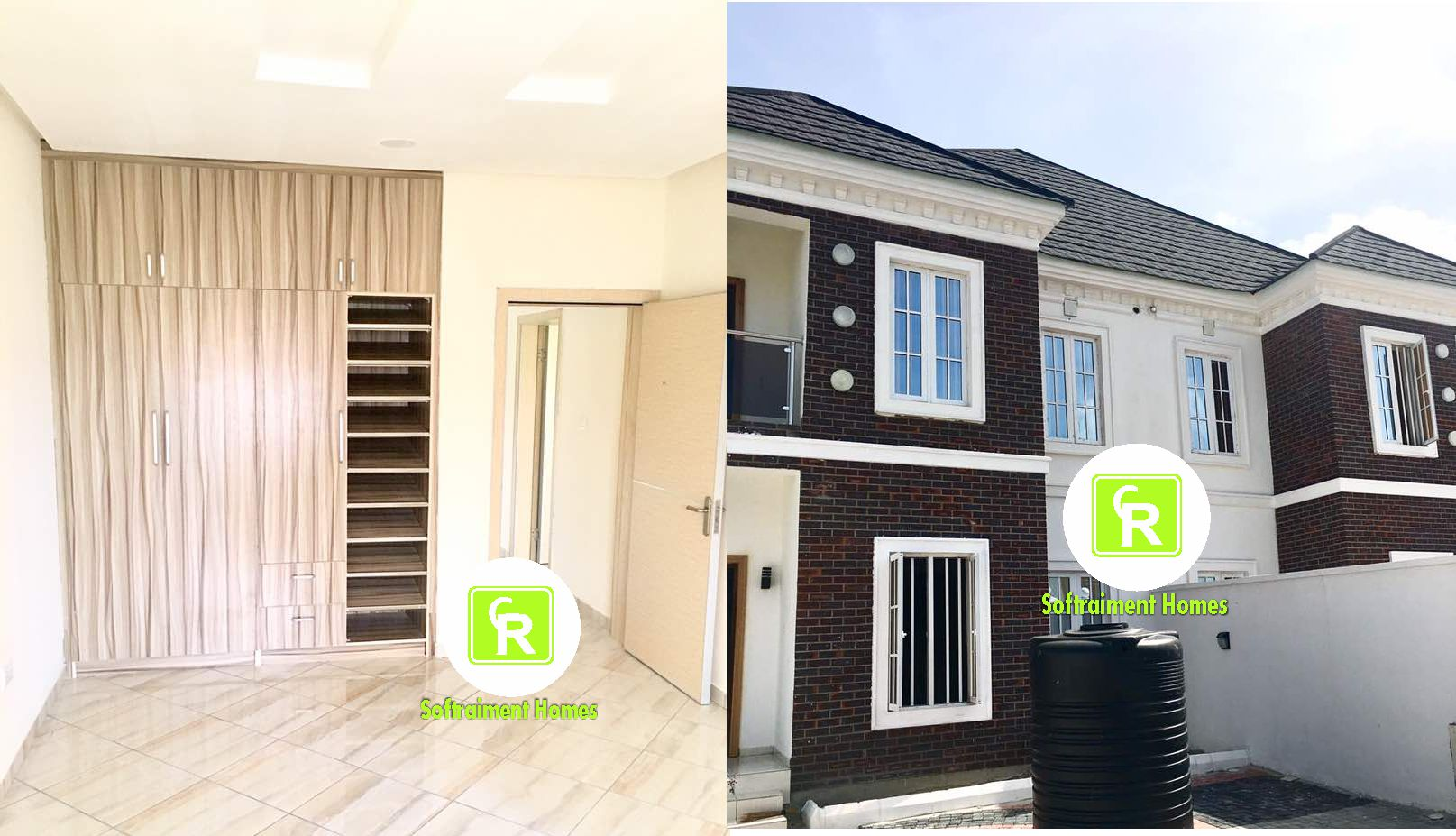 2 UNITS OF 4 BEDROOM SEMI-DETACHED DUPLEX